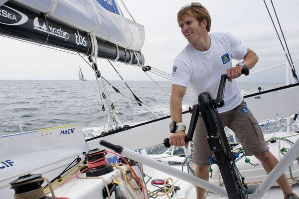François Gabart, vainqueur exceptionnel du dernier Vendée-Globe