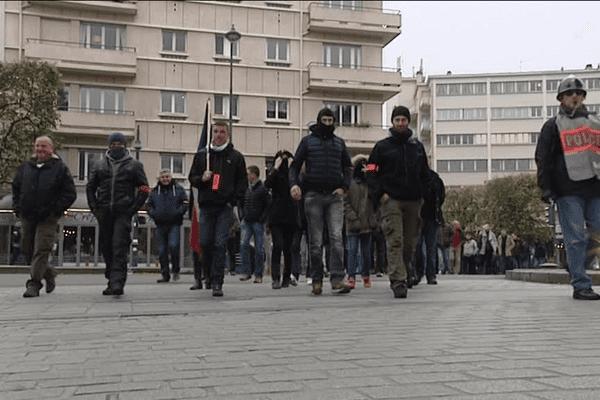 La manifestation à Rennes
