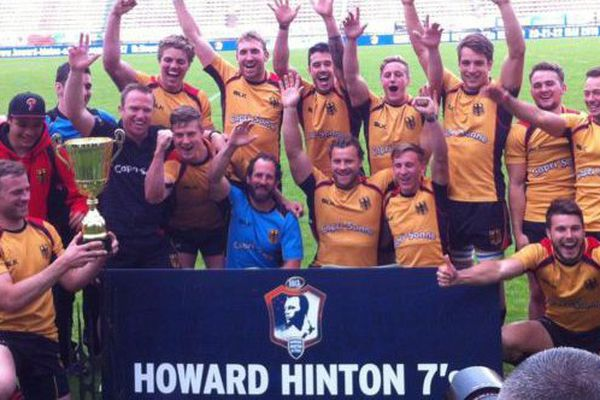 Les Allemands vainqueurs du Howard Hinton Sevens 2016