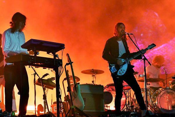 Kevin Parker du groupe Tame Impala lors du Coachella Valley Music And Arts Festival à Indio en Californie - 20/04/2019