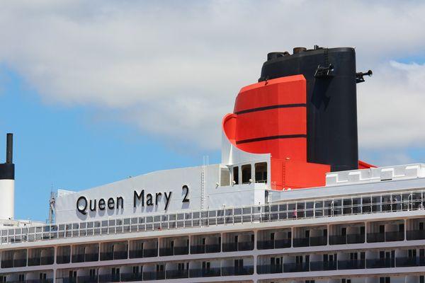 Le Queen Mary 2 à Saint-Nazaire
