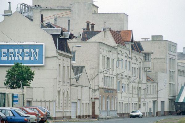 L'ancienne brasserie Terken dans les années 80