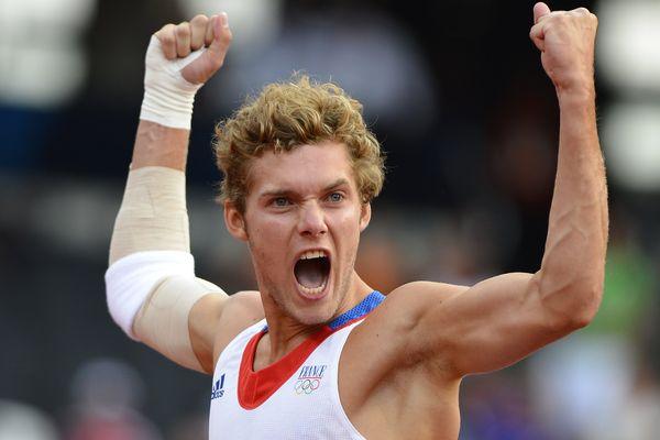 Kevin Mayer aux Jeux Olympiques de Londres, 9 août 2012
