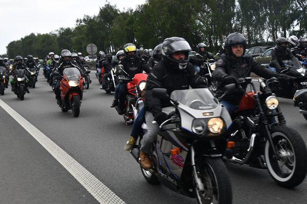 Déjà en mai dernier, les motards avaient manifesté contre la vignette Crit'air