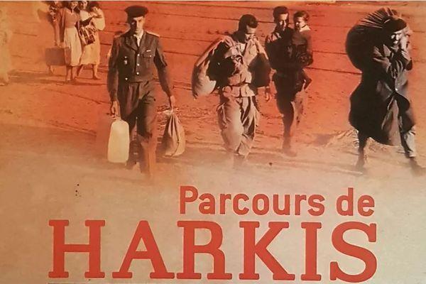 """Exposition """"parcours de Harkis et de leurs familles"""" au CUM de Nice."""