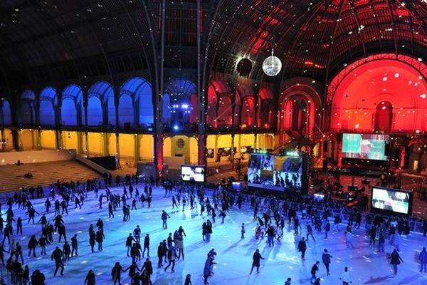 Ambiance festive sous la nef du Grand Palais