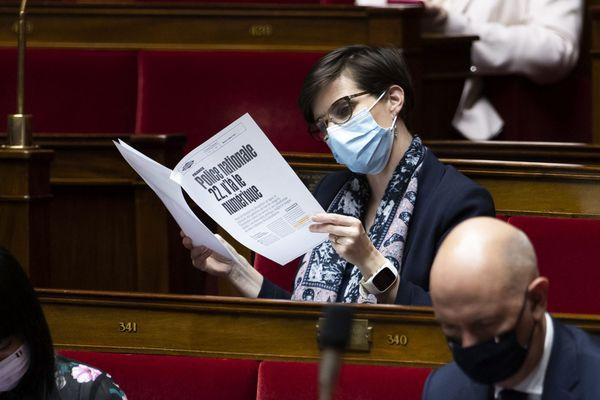 La députée La République en marche de l'Isère Caroline Abadie.