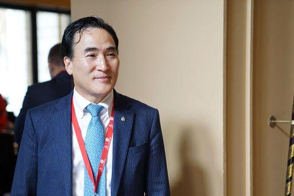 Le Sud-Coréen Kim Jong-yang a été élu président d'Interpol, le 21 novembre 2018, à Dubaï.