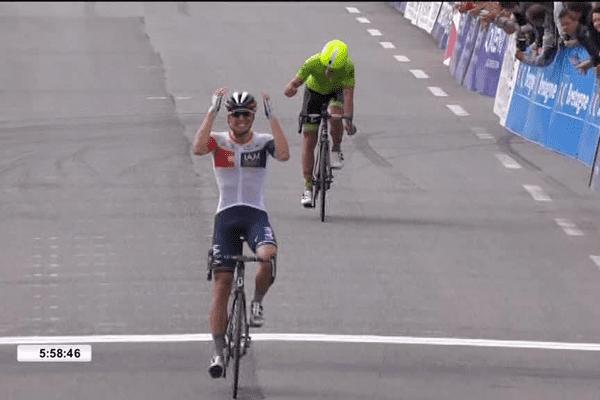 Victoire du belge Oliver Naesen (IAM Cycling)à la Bretagne Classic de Plouay 2016