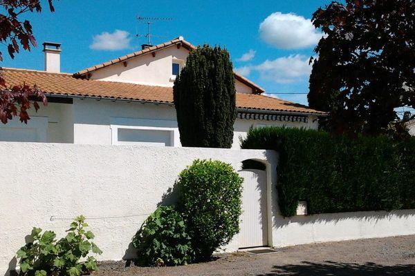 Le domicile des époux Morin à Magné (79) où a été découvert le corps de Véronique Morin.