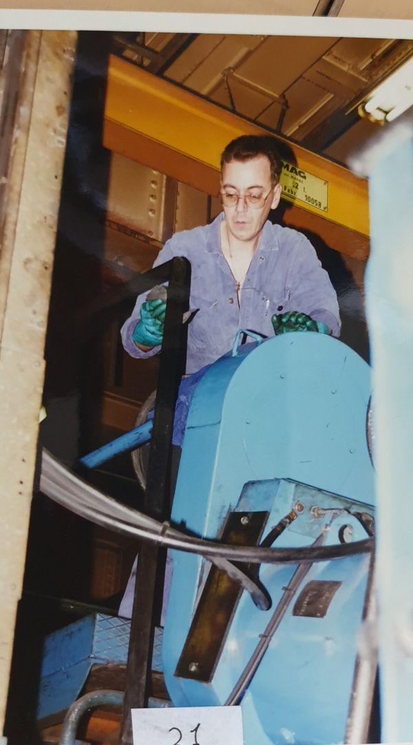 Philippe Lomme, lorsqu'il travaillait à Bridgestone