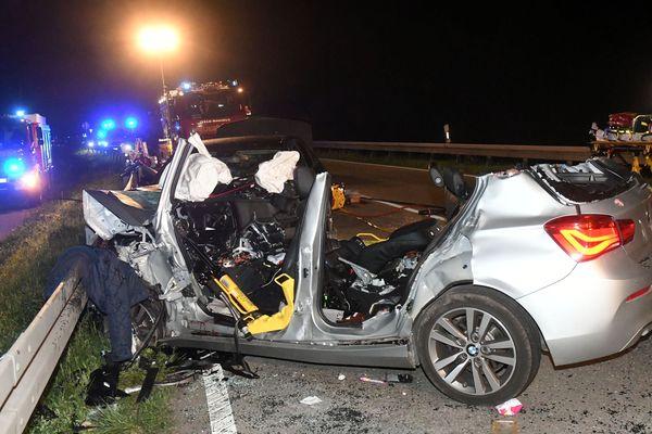 L'accident a eu lieu côté allemand.