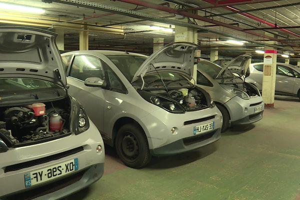 Les véhicules de la flotte Bolloré sont rénovés à Caluire et proposés à la vente aux particuliers.
