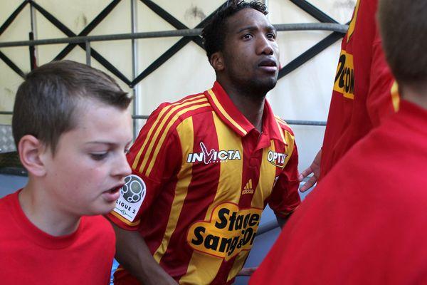 Bergdich en mai 2013 sous le maillot du RC Lens.