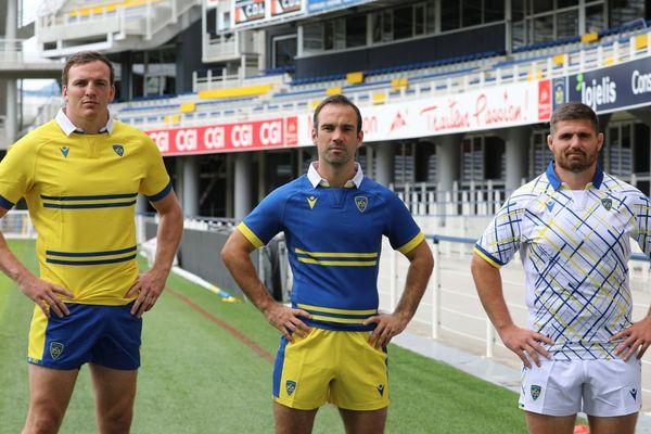 Voici les 3 nouveaux maillots de l'ASM Clermont Auvergne.