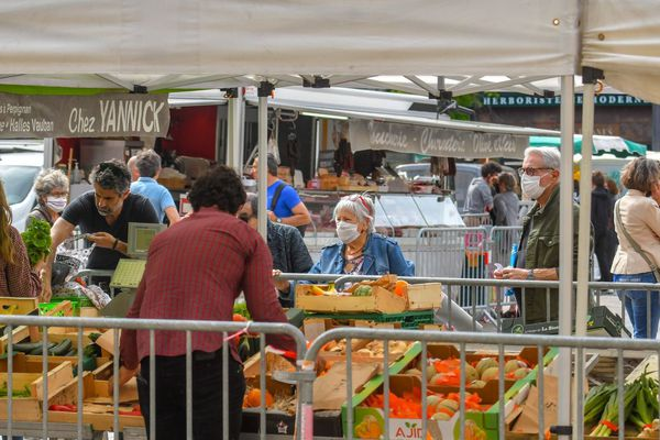 Les marchés ouverts seront soumis à l'obligation du port du masque à Annecy dès ce 25 juillet.