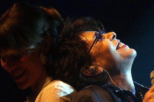 Archives. Dani en concert en 2004.