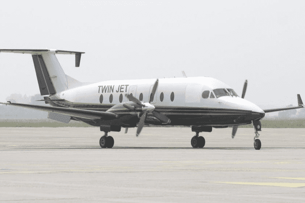 Un avion de la compagne Twin Jet