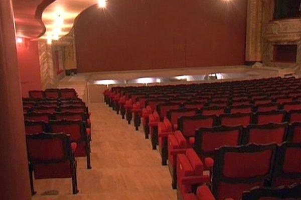Sète (Hérault) - la salle du théâtre - 12 septembre 2013.