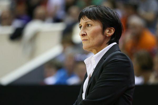Valérie Garnier, coach du Tango Bourges Basket