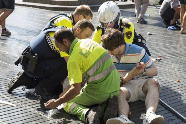 Un père et son fils de six ans gravement blessé dans l'attentat de Barcelone - 17 août 2017
