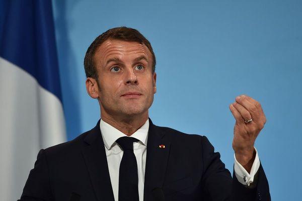 Emmanuel Macron le 5 novembre 2019