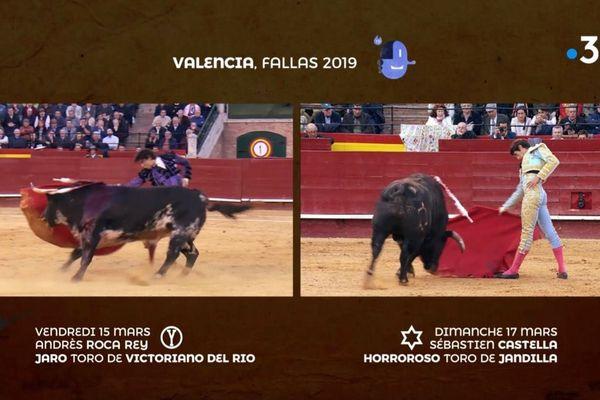 Ils se ressemblent et tout les sépare : Sébastien Castella et Andrés Roca Rey ont triomphé à Valencia en mars.