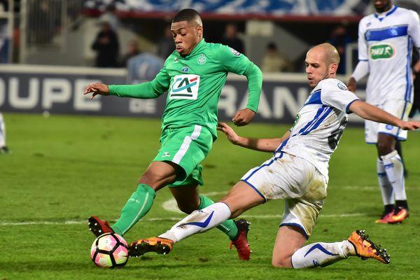 AJ Auxerre / ASSE 16èmes de finale de la Coupe de France - 01/02/2017 -