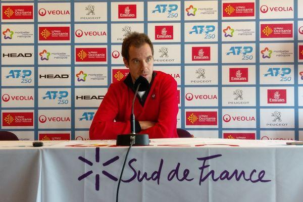 Avant son match mercredi 4 février contre Gilles Simon, Richard Gasquet reconnaît avoir bien du mal à retrouver la forme