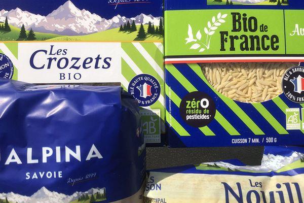 - Photo d'illustration - des pâtes de la marque Alpina