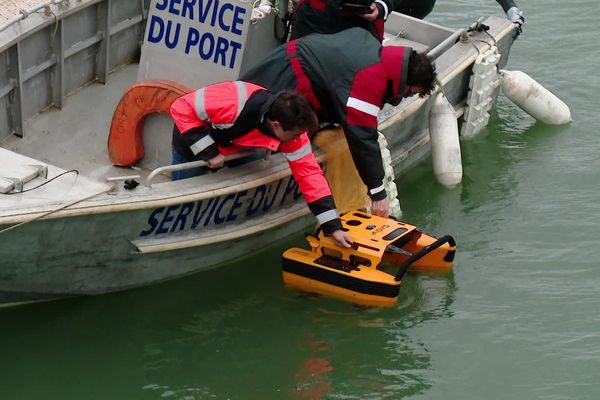 """""""Jellyfishbot"""", le robot nettoyeur acheté par le port de La Turballe"""