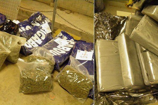 Une quantité importante de cannabis, d'héroïne et de cocaïne a été saisie à l'entrée du tunnel sous la manche