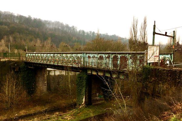 Pont Saint Jules. Herserange