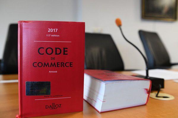 En 2019, 433 procédures collectives ont été traitées, contre 216 pour l'année 2020, au tribunal de commerce de Clermont-Ferrand.