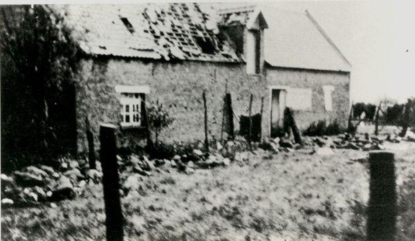 La ferme du Paradis, à Lestrem, où les soldats du Royal Norfolk se sont réfugiés.