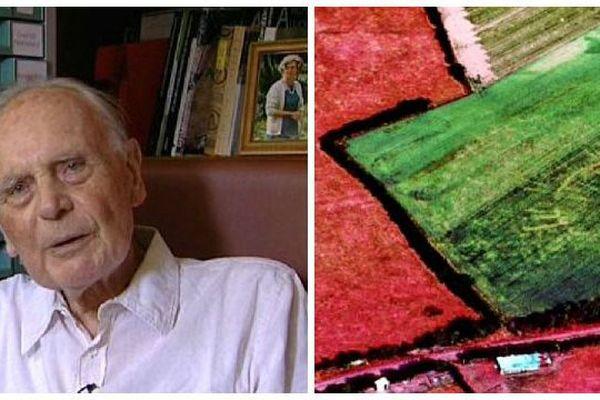 Le Bourguignon René Goguey, qui était un des pionniers de l'archéologie aérienne en France, vient de mourir à l'âge de 94 ans.