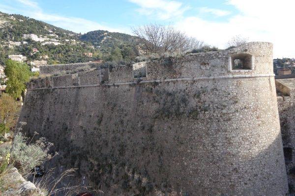 Le bastion de la citadelle de Villefranche sur Mer.
