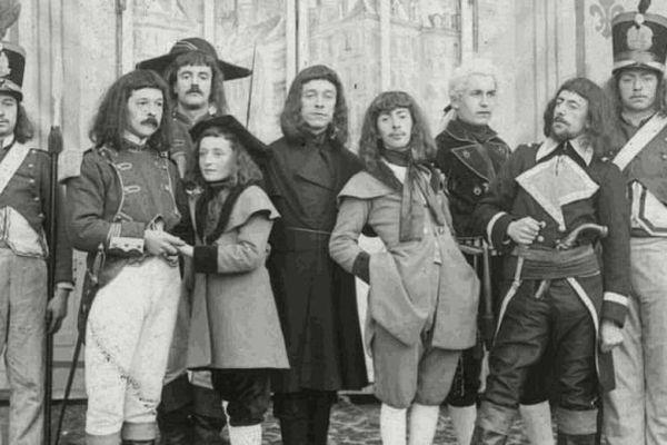 déguisements de l'ancien temps, carnaval de Granville, archives