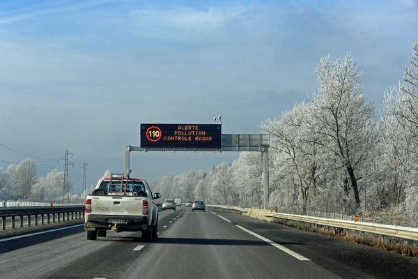 Sur les autoroutes de la vallée de l'Arve. Photo d'illustration.