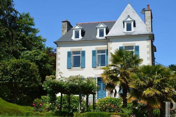Ancienne maison bretonne de Georges Brassens à Lézardrieux