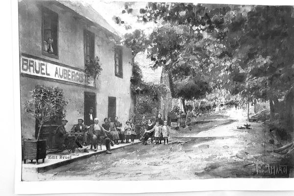 L' hôtel La Terrasse en 1925