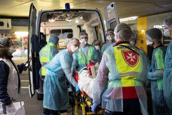 Coronavirus : Le transfert de patients parisiens, le 1er avril