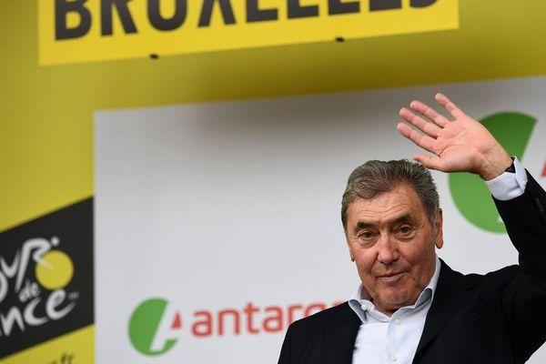 Eddy Merckx, le 6 juillet 2019