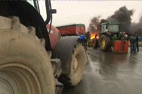 La semaine dernière, ce sont les agriculteurs du Nord qui avaient manifesté