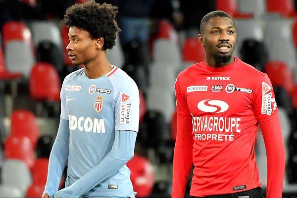 A droite, Marcus Thuram et son frère de Khéphren Thuram-Ulien en janvier dernier.