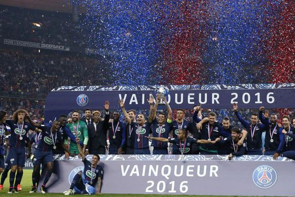 Le PSG vainqueur de la Coupe de France 2016