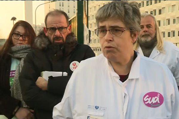 Blandine Hery est secrétaire du CLHSCT au syndicat Sud-Santé à l'origine du mouvement de grève.