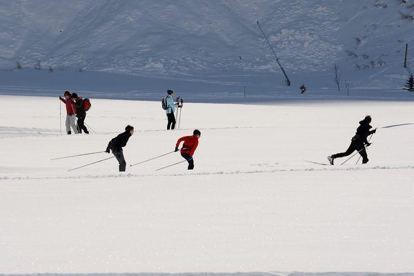 La station de ski nordique de Bessans, en Savoie, a vu sa fréquentation augmenter de 80% cette saison.