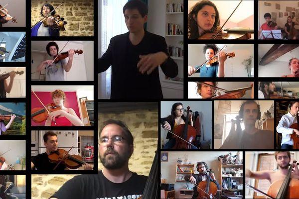 Les 65 musiciens de la Chambre symphonique reinventent le Ban bourguignon