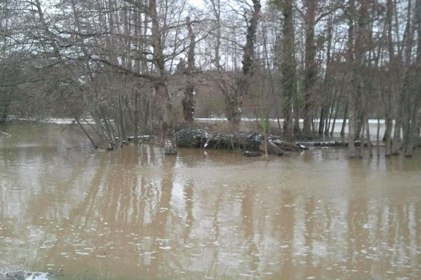 Inondations au Nord de Rennes
